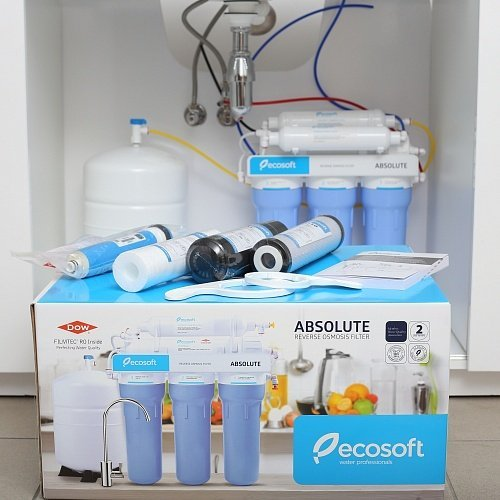 Фільтр зворотного осмосу Ecosoft Absolute з мінералізатором 1
