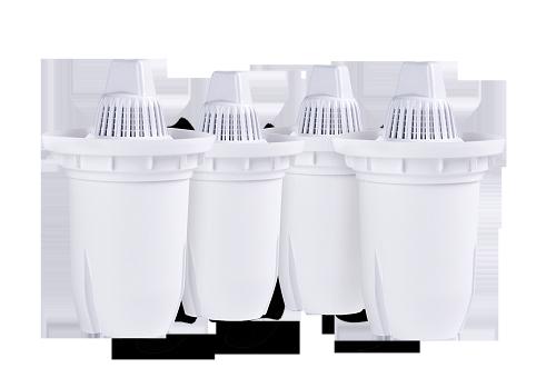Комплект універсальних змінних картриджів 3 + 1 НАША ВОДА до фільтрів-глечиків