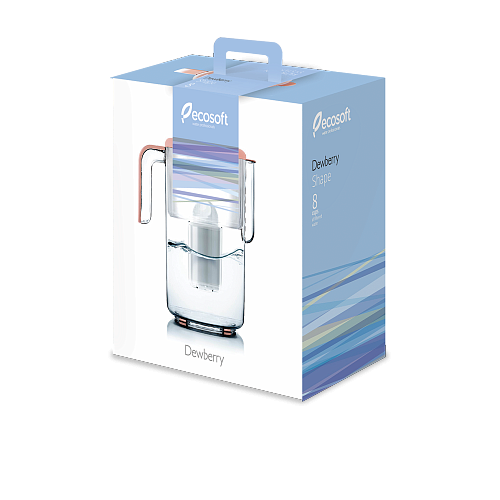 Фільтр-глечик Ecosoft Dewberry Shape 3,5 л 3