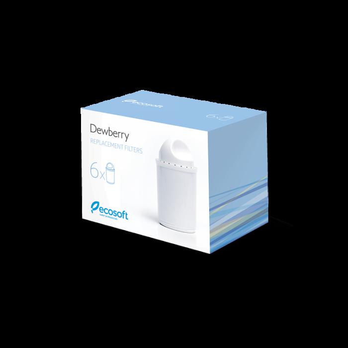 Комплект змінних картриджів для фільтра-глечика Dewberry 6 шт. 1