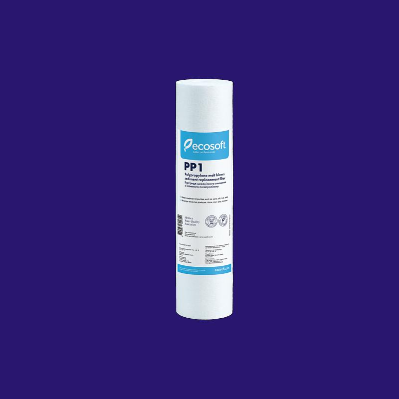 Картридж з спіненого поліпропілену Ecosoft 2,5x10 1 мкм